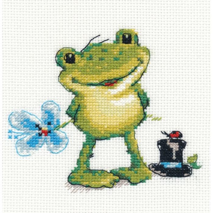 Набор для вышивания АЛИСА арт.0-131 Ква-а 12х11 см
