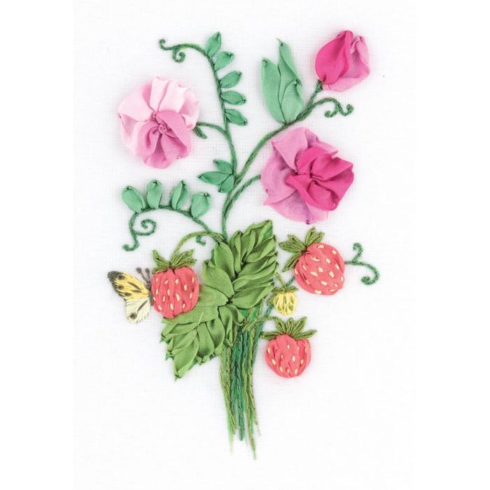 """Набор для вышивания PANNA """"Живая картина"""" арт. JK-2136 Шарм лета 11х16 см"""