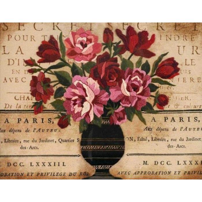 Набор для вышивания DIMENSIONS арт.DMS-01542 Парижский букет 36х28 см