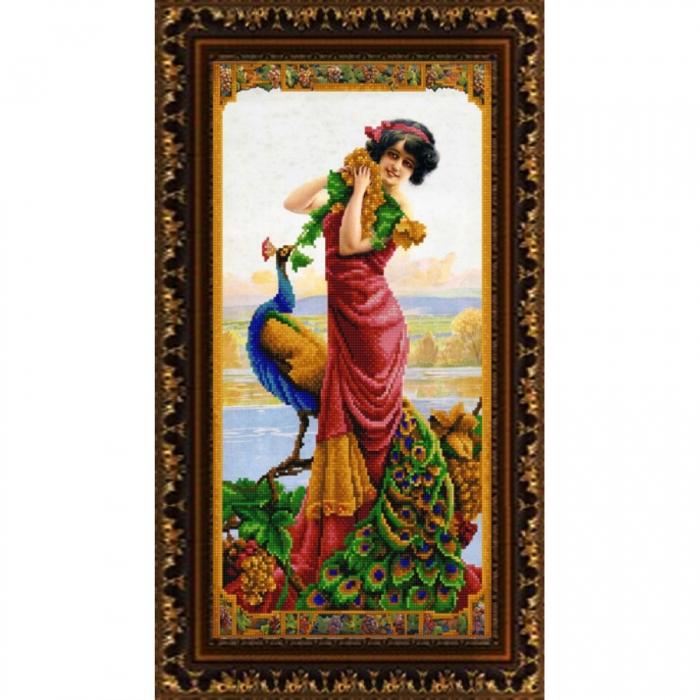 Рисунок на ткани (Бисер) КОНЁК арт. 9908 Натали 25х45 см