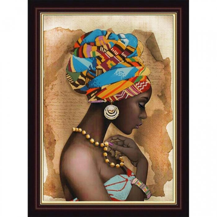 Рисунок на ткани (Бисер) КОНЁК арт. 8417 Южная красавица 29х39 см