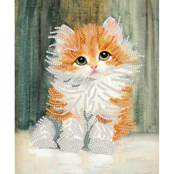Рисунок на ткани (Бисер) КОНЁК арт. 8110 Петя-рыжик 15х18 см