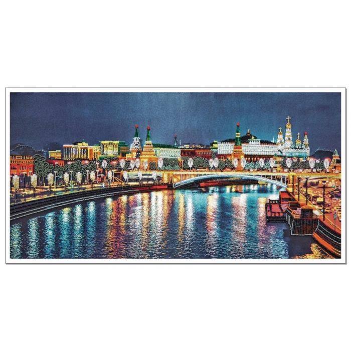 Набор для вышивания бисером НОВА СЛОБОДА арт.ДК1101 Любимый город 60х30см