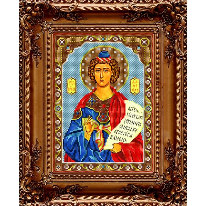 Набор для вышивания бисером ВЫШИВАЕМ БИСЕРОМ арт.L122 Святой Даниил 18х25 см