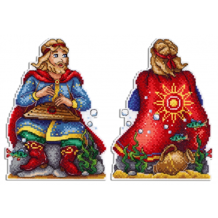Набор для вышивания ЖАР-ПТИЦА арт.Р-573 Садко в подводном царстве 17х12 см