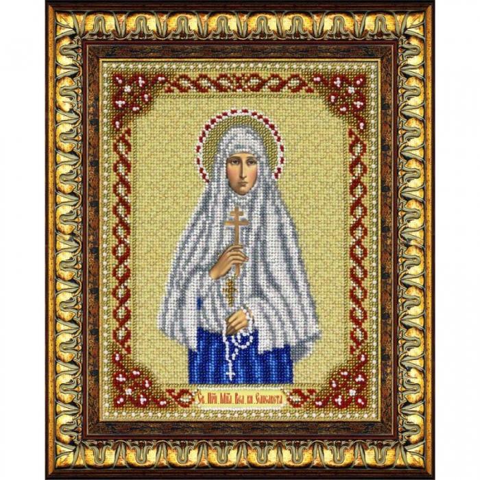 Набор для вышивания бисером ПАУТИНКА арт.Б-1056 Св.Мч.Блгв.вл.кн.Елизавета 20х25 см