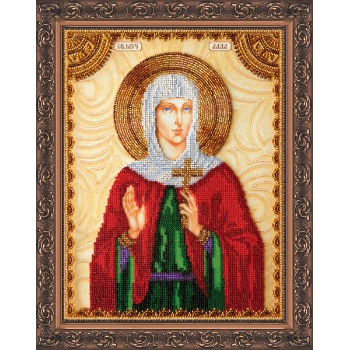 Набор для вышивания бисером АБРИС АРТ арт. AA-062 Св.Алла 23х30 см