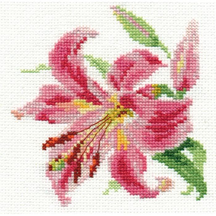 Набор для вышивания АЛИСА арт.0-118 Лилия 11х12 см