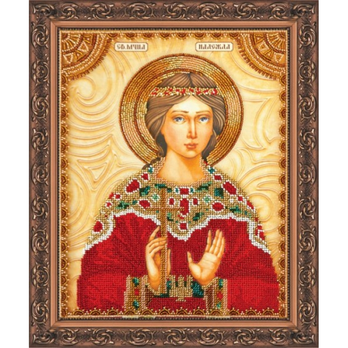 Набор для вышивания бисером АБРИС АРТ арт. AA-009 Св.Надежда 23х30 см