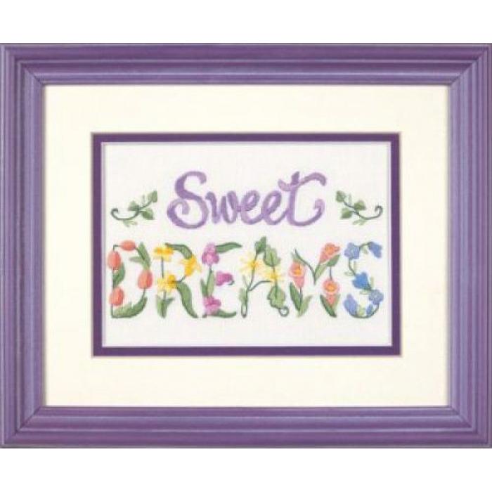 Набор для вышивания DIMENSIONS арт.DMS-06235 Цветочные сны 13х18 см