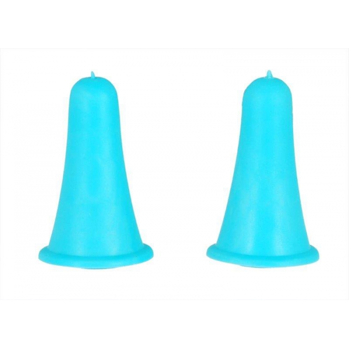 10814 Knit Pro Наконечники для спиц 2-5мм, пластик, голубой, уп.2шт