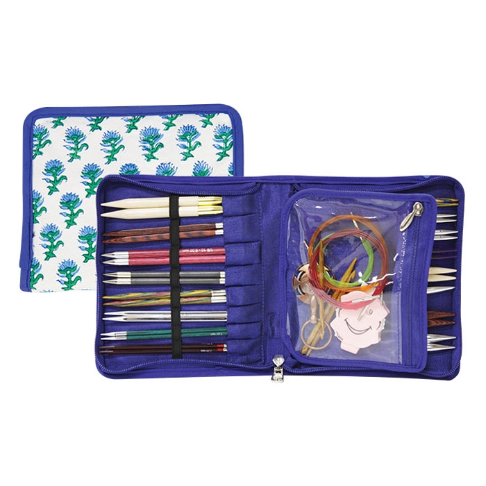 12021 Knit Pro Органайзер Glory 14,5х16,5см (в закрытом виде) 29х16,5см (в открытом виде) ткань