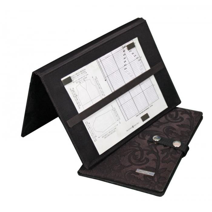 10731 Knit Pro Планшет для чтения схем 25х30см, пластик, черный