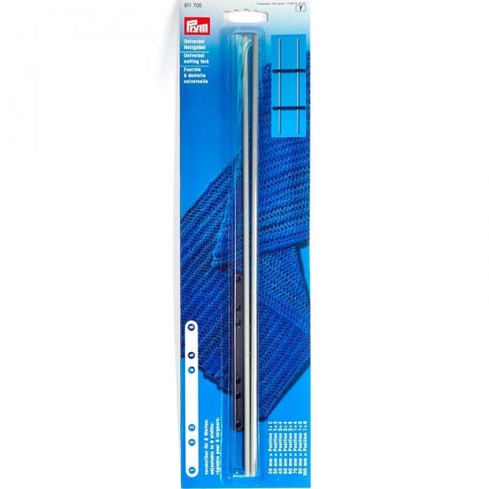 611700 PRYM Вилка для вязания универсальная алюминий/пластик 20-100мм уп.1шт