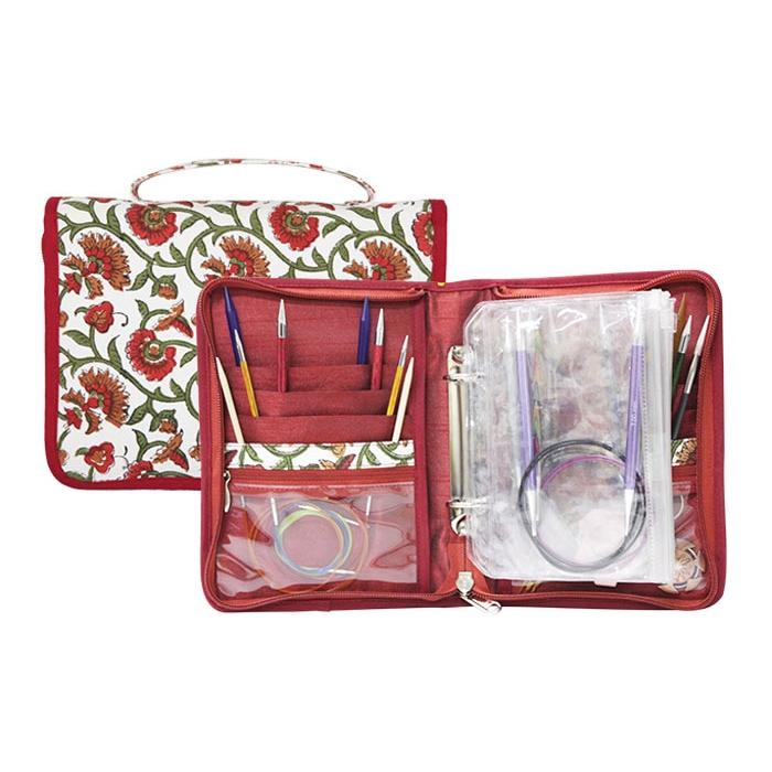 12002 Knit Pro Органайзер Aspire 16х21,5см (в закрытом виде) 33х21,5см (в открытом виде) ткань