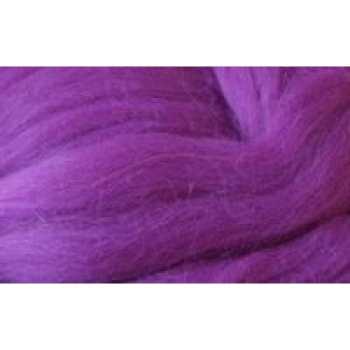 Шерсть для валяния ПЕХОРКА тонкая шерсть (100%меринос.шерсть) 50г цв.078 фиолетовый