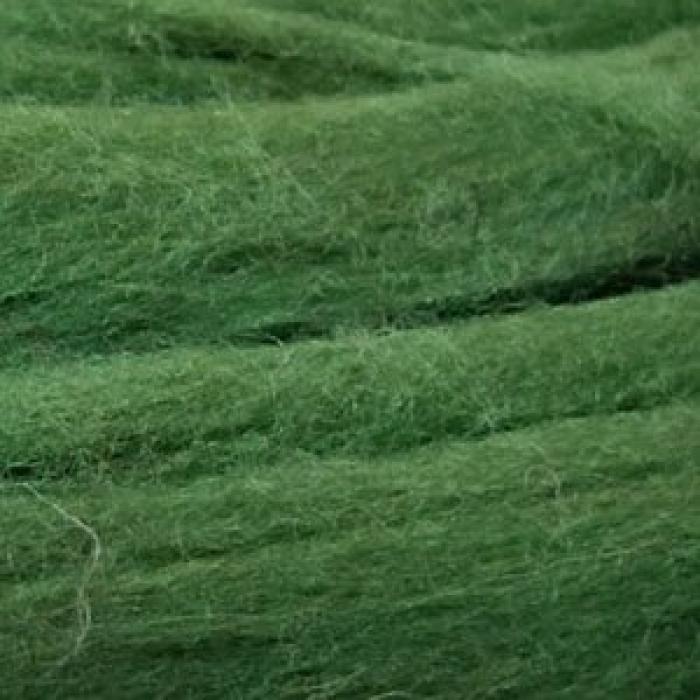 Шерсть для валяния ПЕХОРКА полутонкая шерсть (100%шерсть) 50г цв.013 т.оливковый