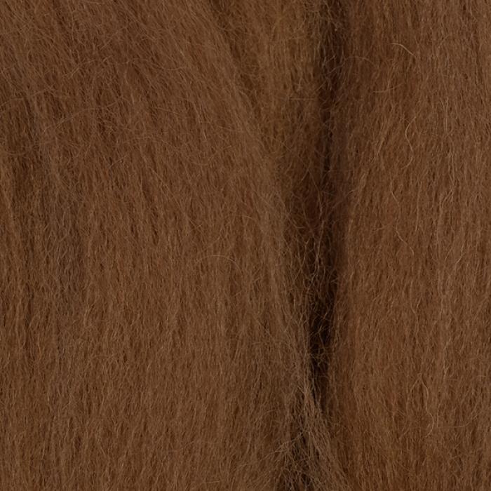 Шерсть для валяния ПЕХОРКА тонкая шерсть (100%меринос.шерсть) 50г цв.165 т.бежевый