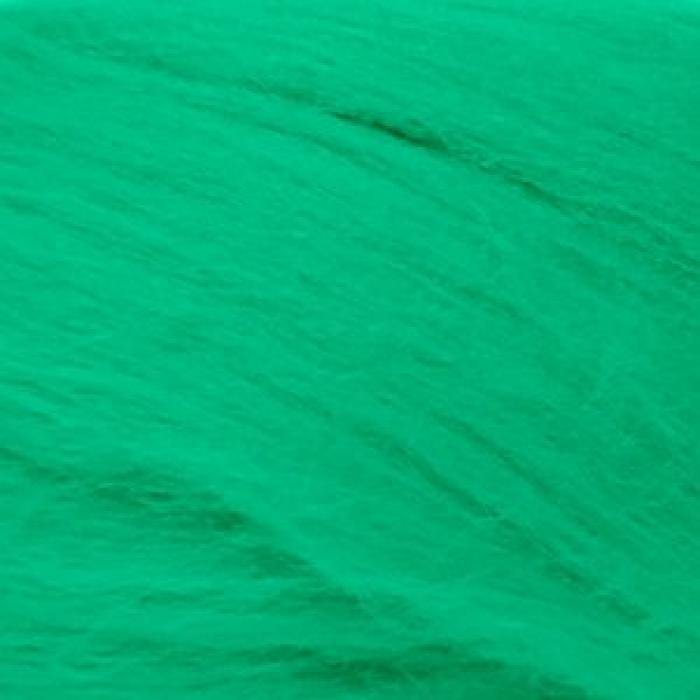 Шерсть для валяния ПЕХОРКА тонкая шерсть (100%меринос.шерсть) 50г цв.335 изумруд
