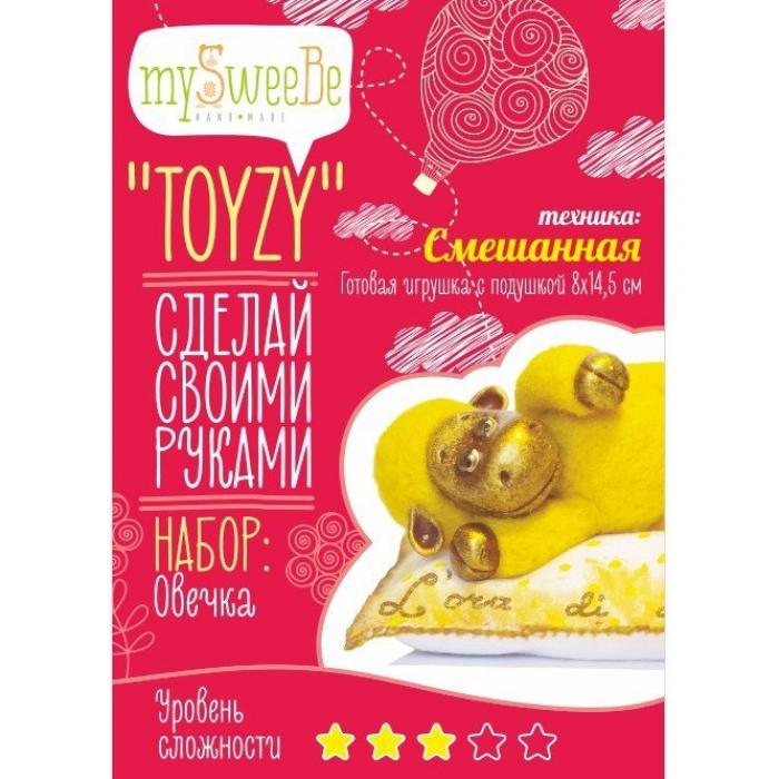 Набор для изготовления текстильной игрушки Toyzy арт.TZ-M002 Овечка Смешанный