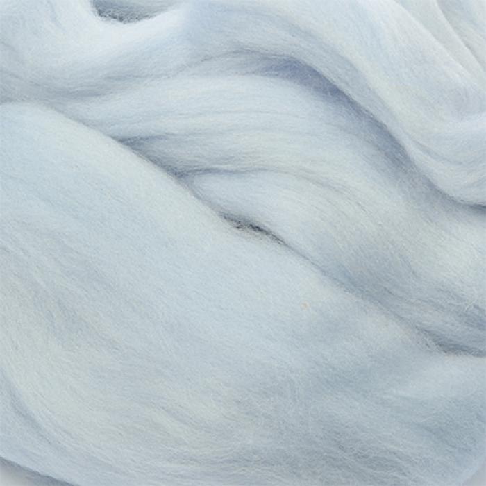 Шерсть для валяния ПЕХОРКА тонкая шерсть (100%меринос.шерсть) 50г цв.071 талая вода