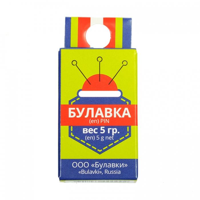 Булавка с ушком арт С3-0545 (1-30мм) уп.5г