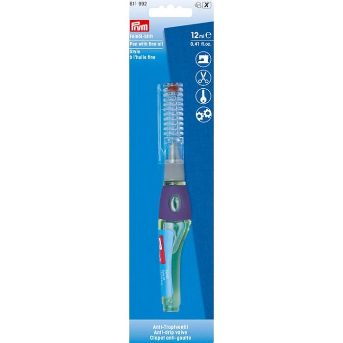 611992 PRYM Карандаш с очищенным маслом 12мл с противокапельным клапаном (без смол и кислот)
