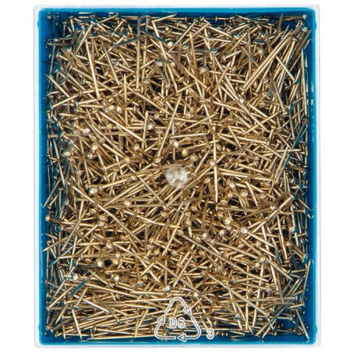 021217 PRYM Булавки железные, с защитой от ржавчины 0,65 мм х 16мм 50 гр