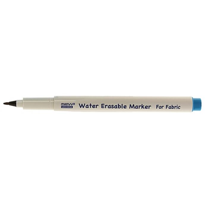 Маркер MARVY дл. размет. ткани 1мм водорастворимый. цв. синий MAR423/3