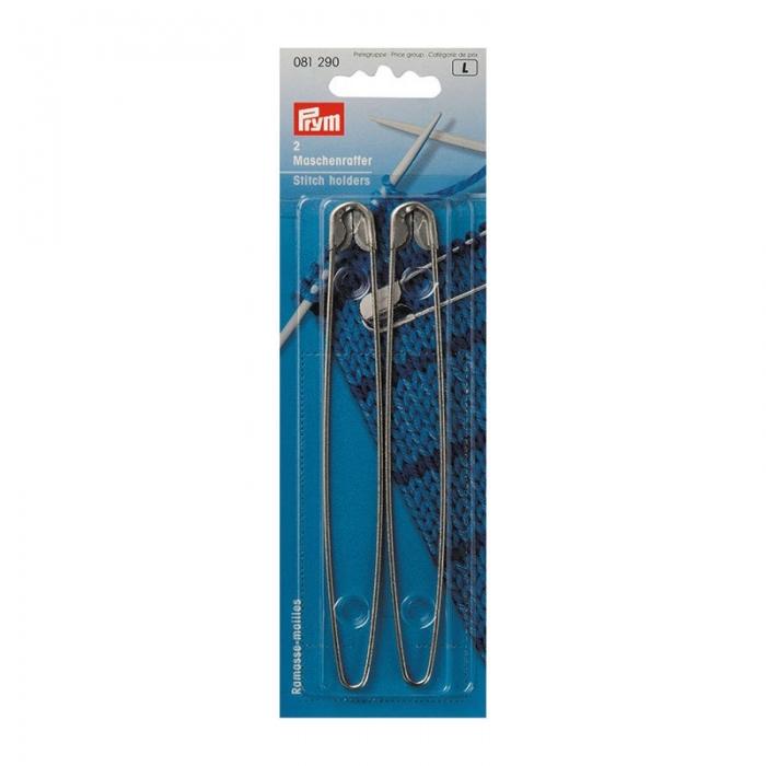 81290 PRYM Булавки для незакрытых петель железо с защитой от ржавчины 135мм цв. серебристый уп.2ш