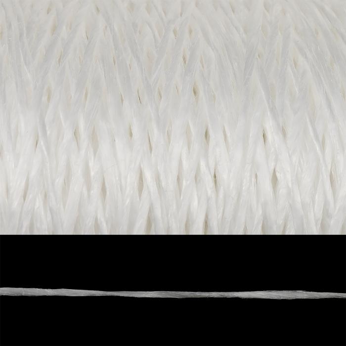 Шпагат полипропиленовый 1000 Текс клубок цв.белый уп.500гр