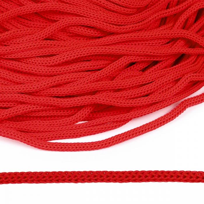Шнур полипропилен пп5 для люверсов пикколо 5мм цв.красный уп.100м