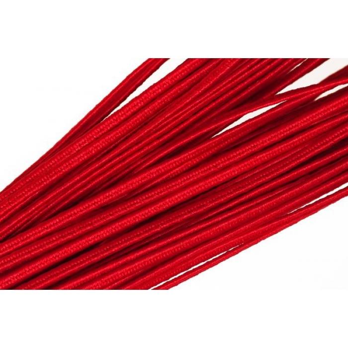 """Шнур отделочный 1с14 """"Сутаж"""" 2,5-3мм цв.10 красный уп.20м"""