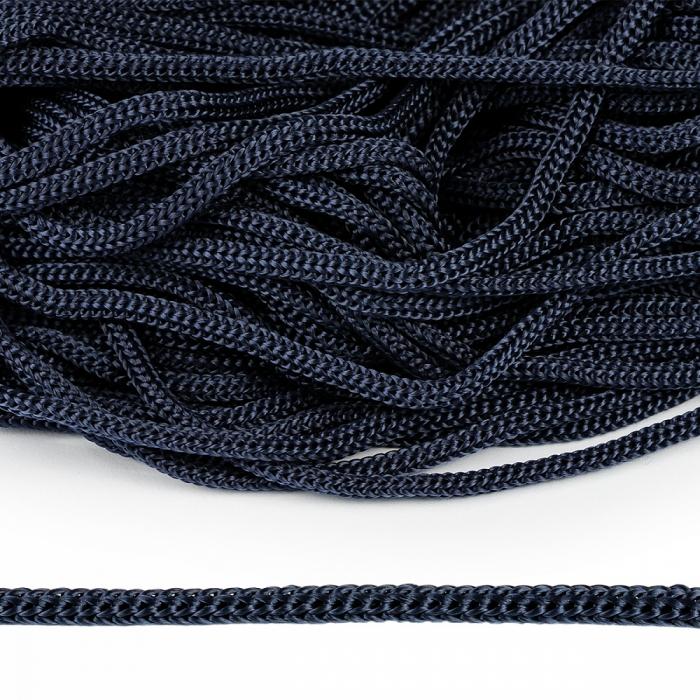 Шнур полипропилен пп5 для люверсов пикколо 5мм цв.т.синий уп.100м