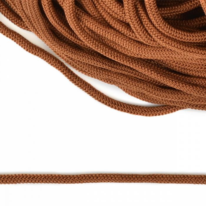 Шнур круглый полиэфир 04мм арт. 1с-36 цв.042 св.коричневый уп.200м