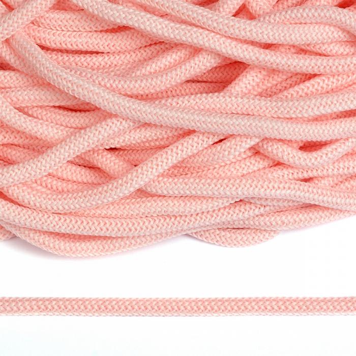 Шнур круглый полиэфир 04мм арт. 1с-36 цв.018 розовый уп.200м