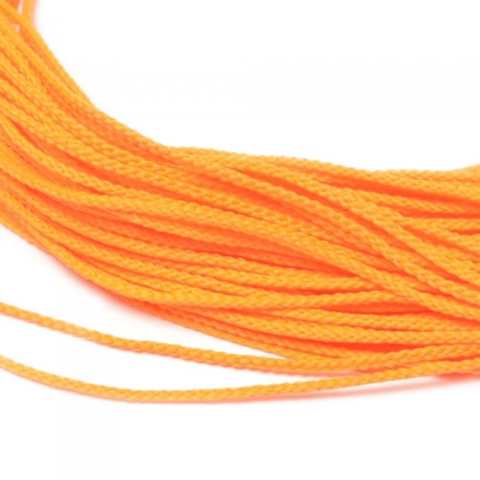 Шнур для мокасин, 1с-16, 1.5мм, цв. оранжевый