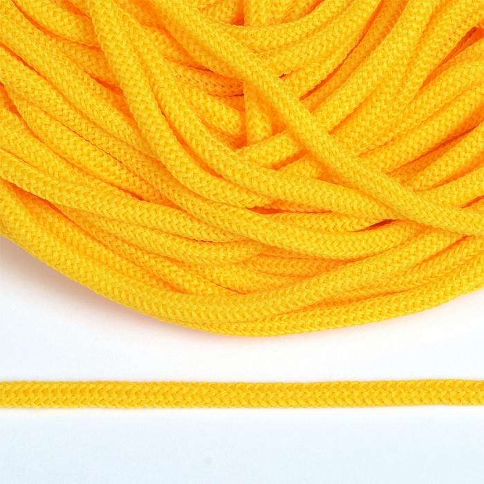 Шнур круглый полиэфир 04мм арт. 1с-36 цв.093 желтый уп.200м