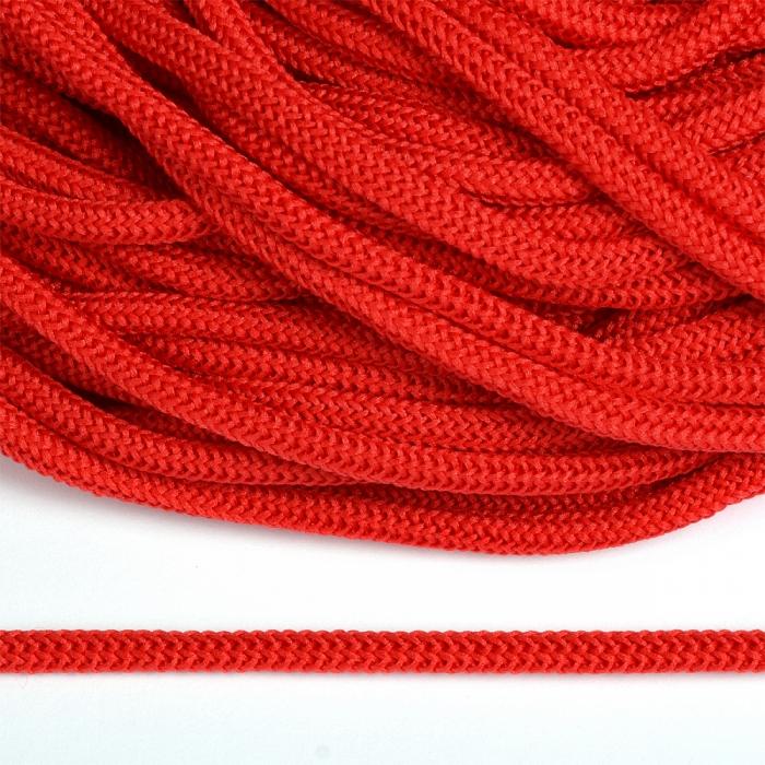 Шнур круглый полиэфир 04мм арт. 1с-36 цв.045 красный уп.200м