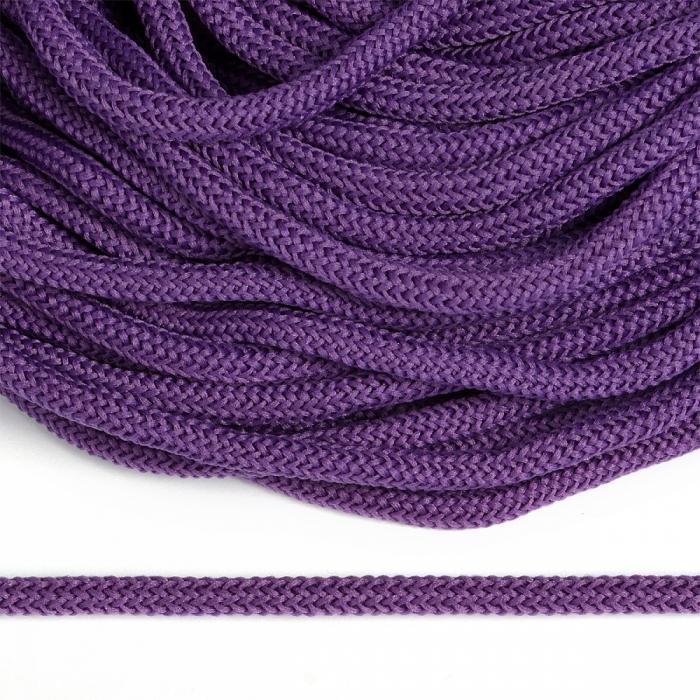 Шнур круглый полиэфир 04мм арт. 1с-36 цв.047 фиолетовый уп.200м