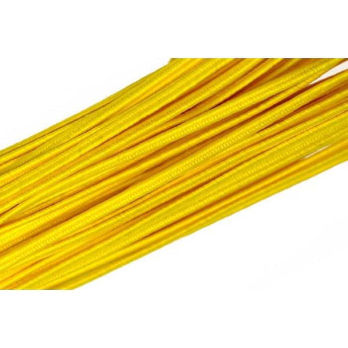 """Шнур отделочный 1с14 """"Сутаж"""" 2,5-3мм цв.желтый уп.20м"""