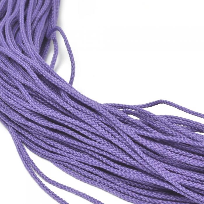 Шнур для мокасин, 1с-16, 1.5мм, цв. фиолетовый