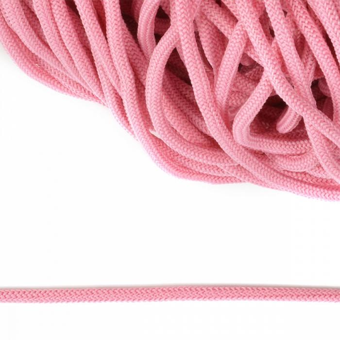 Шнур круглый полиэфир 04мм арт. 1с-36 цв.019/Р розовый уп.200м
