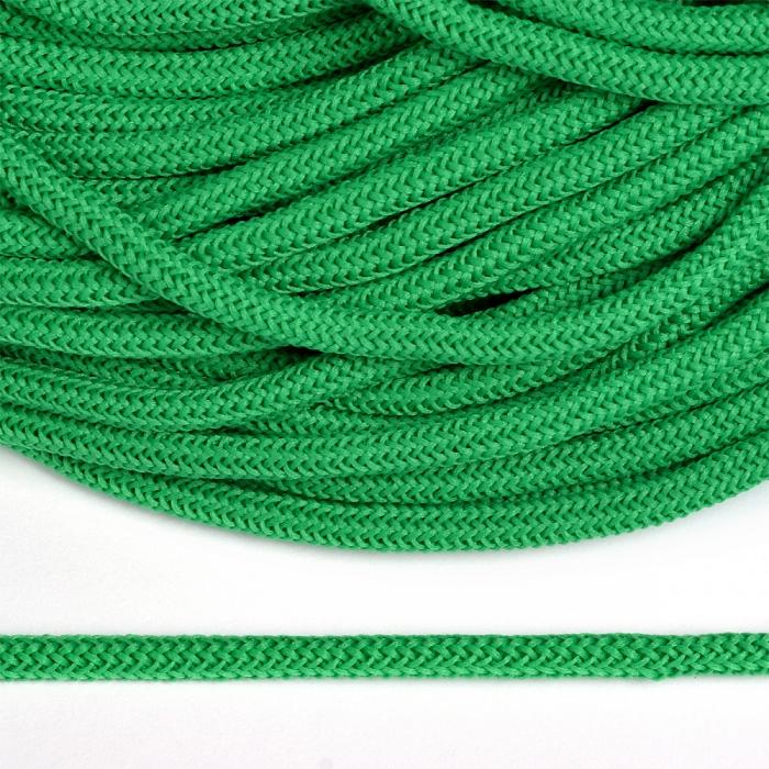 Шнур круглый полиэфир 04мм арт. 1с-36 цв.057 ярк.зеленый уп.200м