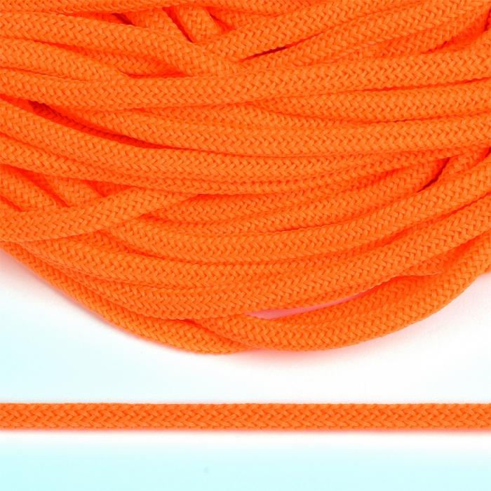 Шнур круглый полиэфир 04мм арт. 1с-36 цв.258 люминисцентно оранжевый уп.200м