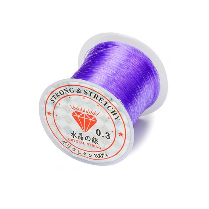 Леска для бисера ?0,3 100м цв.фиолетовый