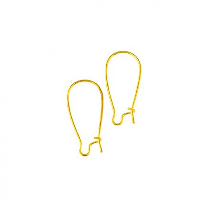 Швензы TESОRO nickel free арт.TS-NF03/2 цв.золото