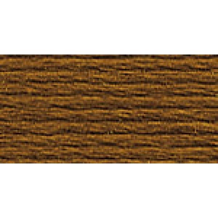 Нитки для вышивания Gamma мулине (0001-0206) 100% хлопок 24 x 8 м цв.0002 коричневый