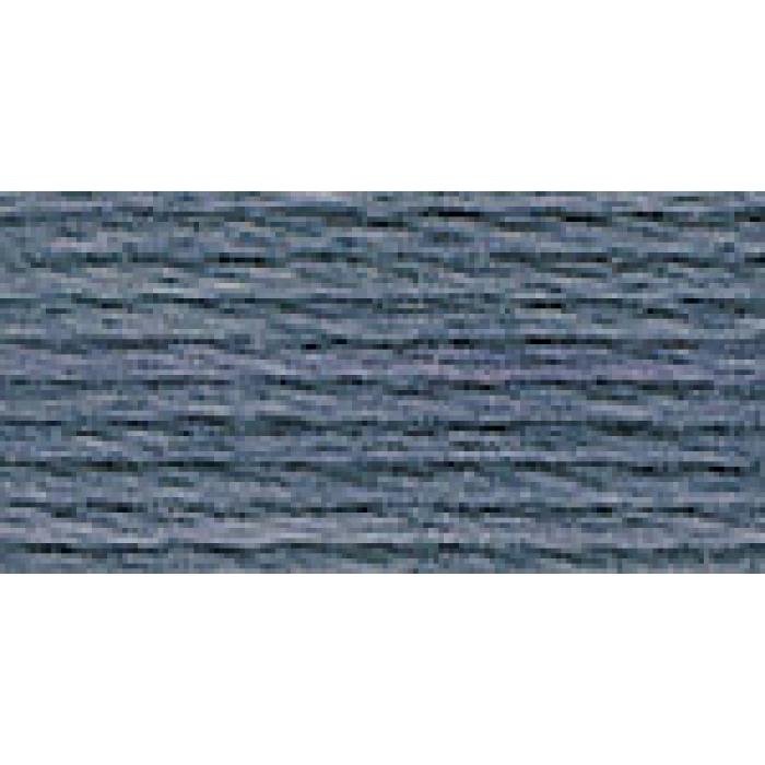 Нитки для вышивания Gamma мулине (3173-6115) 100% хлопок 24 x 8 м цв.3258 св.серый