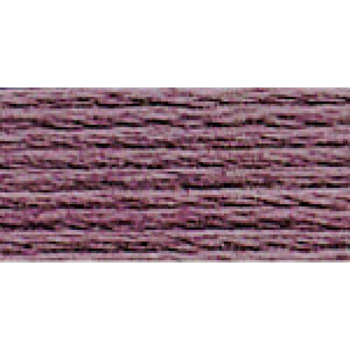 Нитки для вышивания Gamma мулине (0820-3070) 100% хлопок 24 x 8 м цв.3017 сливовый